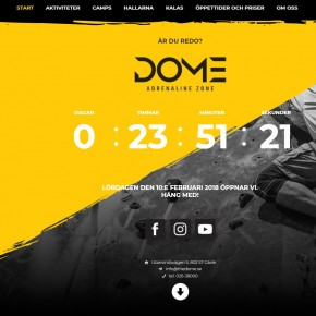 Dome Adenaline Zone http://www.thedome.se/
