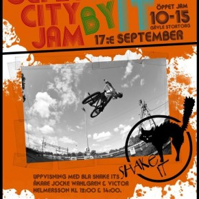 Gefle City Jam by ShakeIt 17/9!!