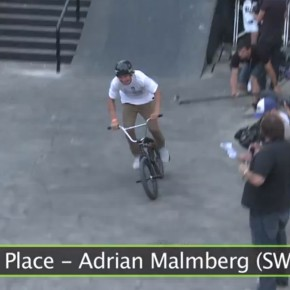 BMX Worlds Cologne 2013 Adrian Malmberg!